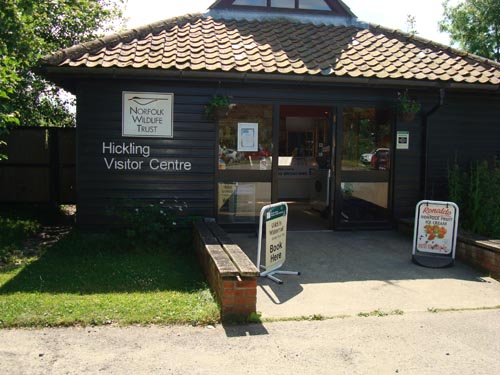 View of Hickling Broad Visitor Centre