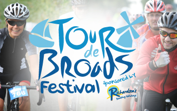Tour de Broads sponsored by Richardson's Boating Holidays