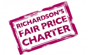 richardson's fair price charter logo