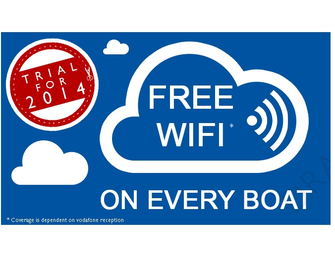 trial for 2014 free wifi on every boat info graphic