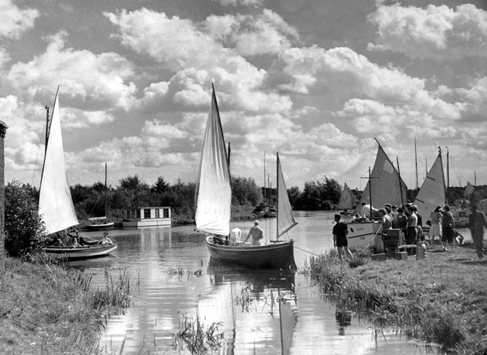 history of the broads