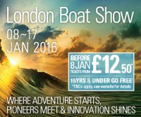 Richardson's Back at the London Boat Show in 2016