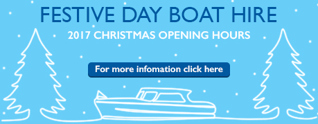 christmas day boat hire.