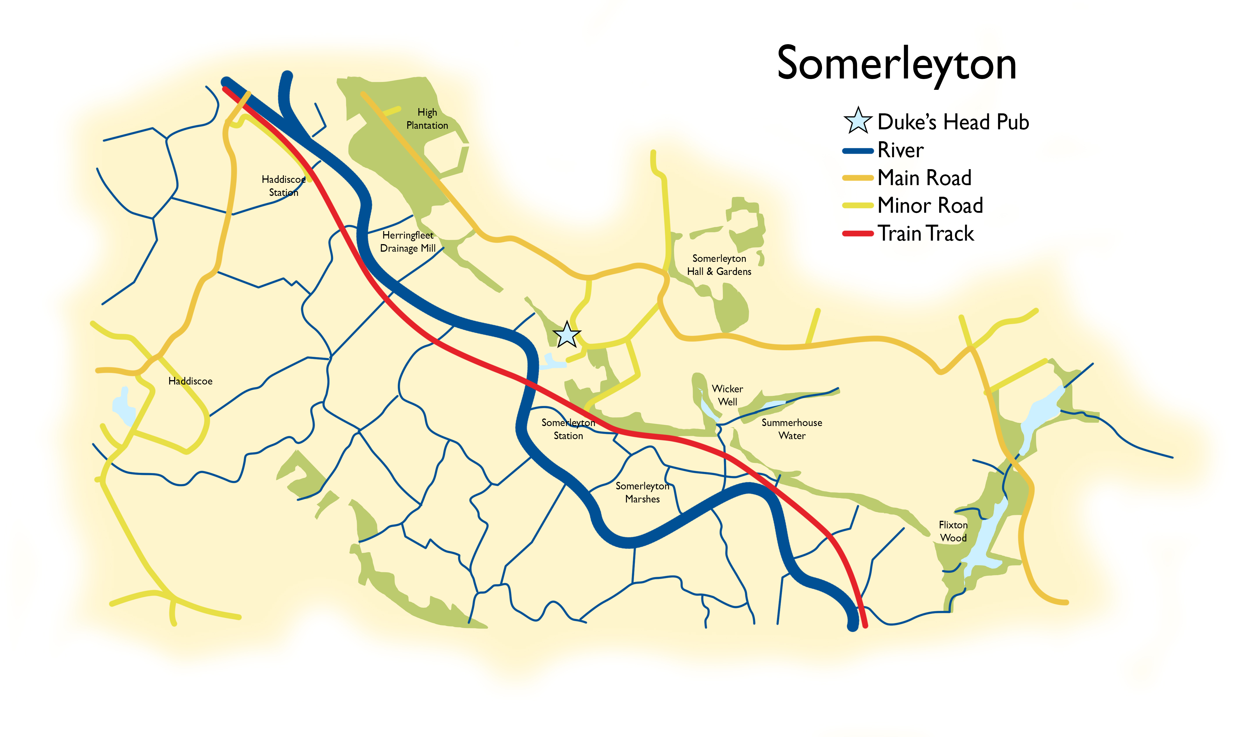 Richardson's guide to eating out in Somerleyton