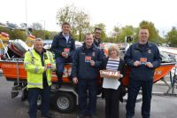 Richardson's team up with Hemsby Lifeboat to Help Promote Safety on the Broads