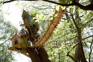 BeWILDerwood is one of the many fantastic things to do in the Norfolk Broads.