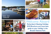 Sneak Peak Richardson's 2018 Boating Holidays Brochure