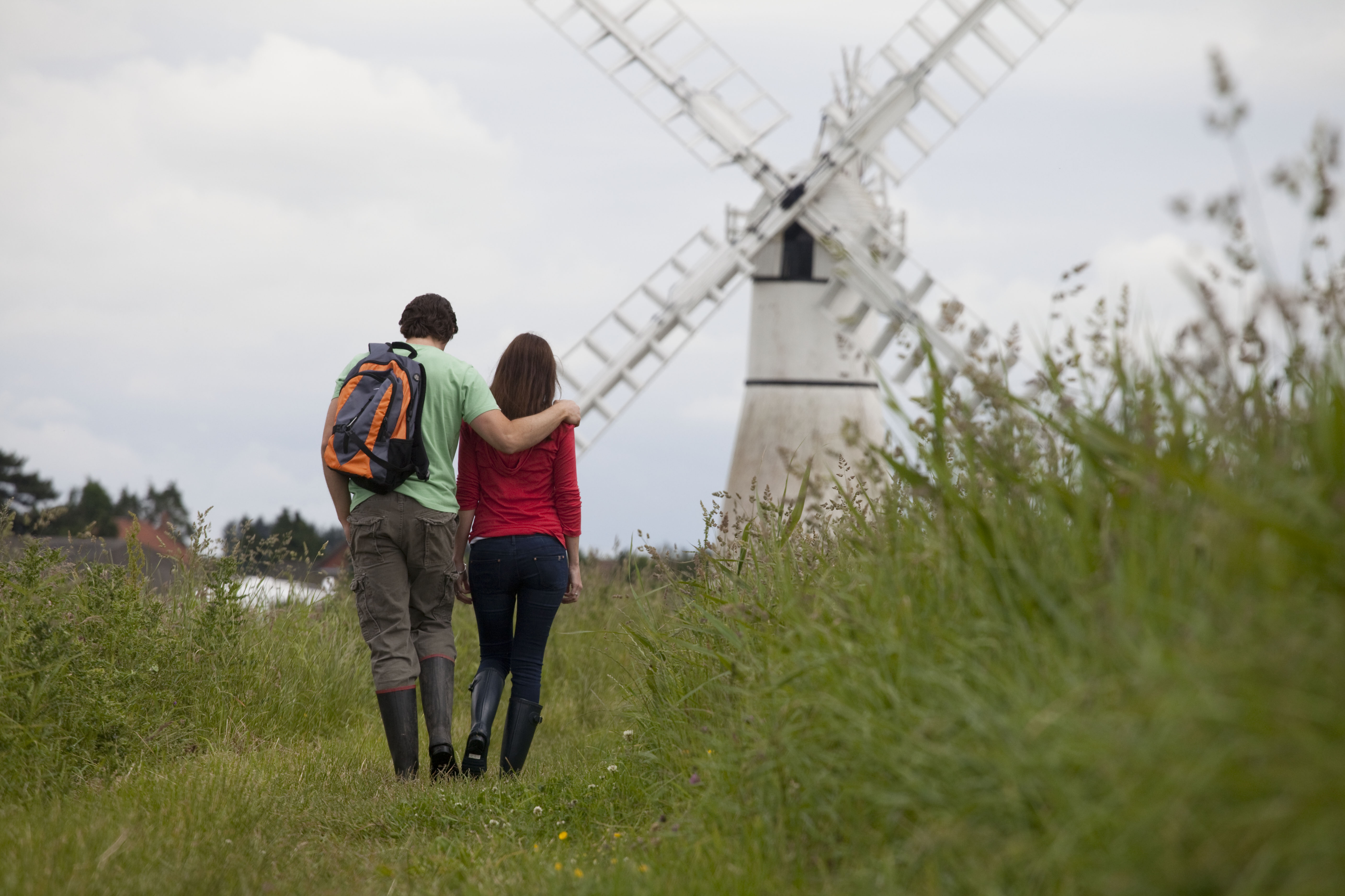 When looking for a honeymoon in the UK, the Broads National Park is a great option.