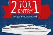 OFFER: 2 FOR 1 on London Boat Show Day Tickets!