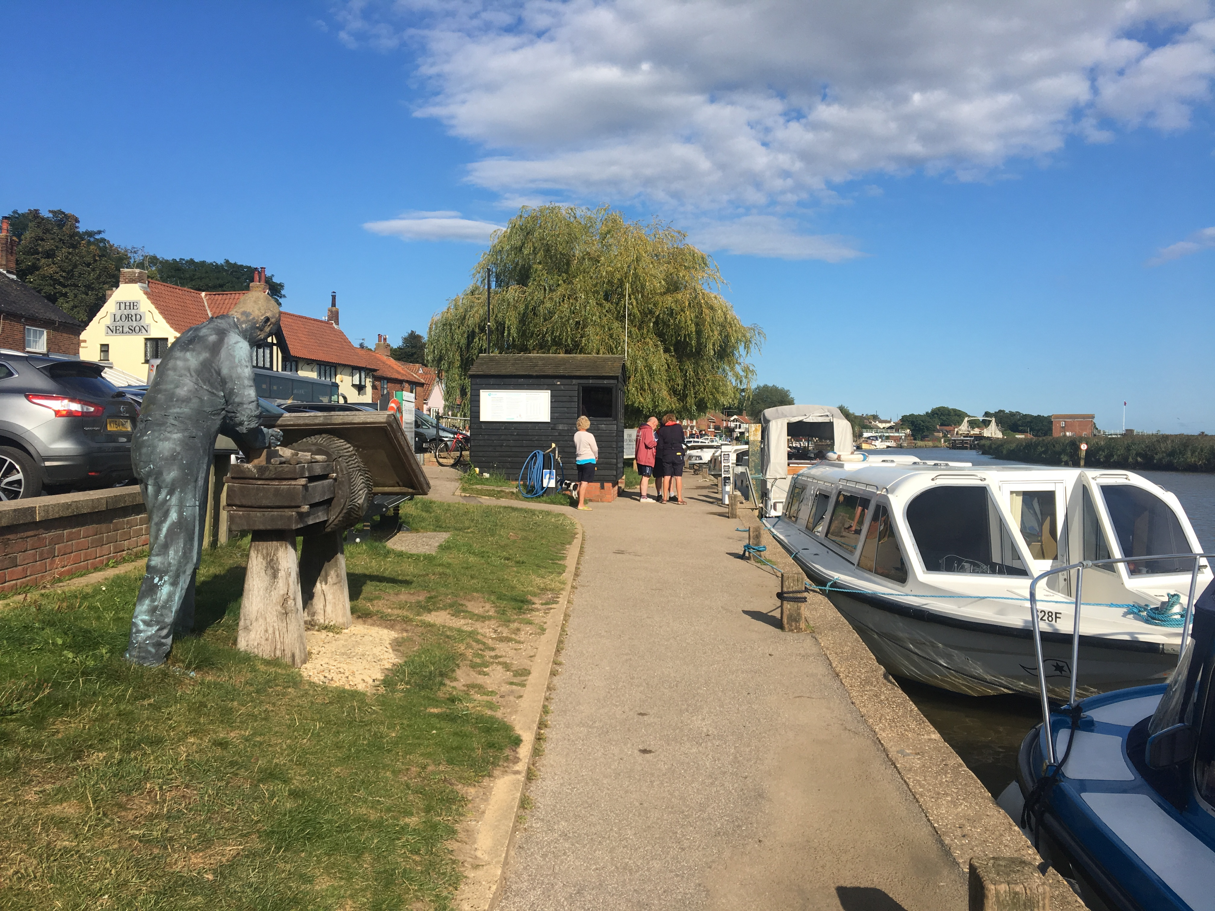 Eating out in Reedham