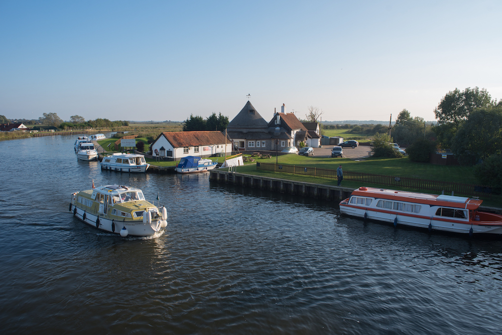 Acle is another romantic option when looking to visit the Broads this Valentine's Day.