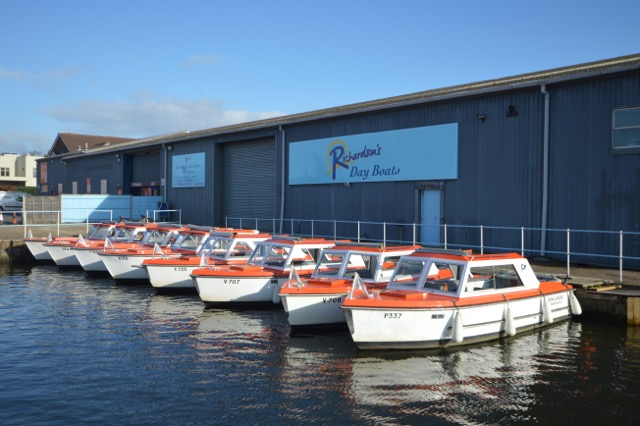 Visit the Broads this Valentine's Day with someone special with the help of Richardson's Day Boats in Wroxham.