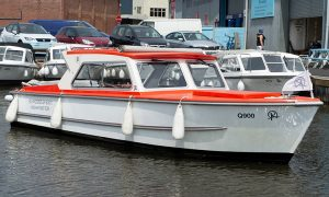 8 (+3) Seater Day Boat